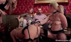 Bondsman blue slaves in s&m torment orgy