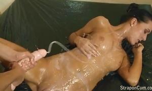 Tribadic dong cum compilation part - 1