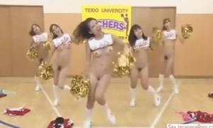 Japanese cheerleader timestop