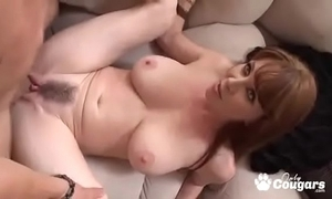 Grown up milf rayveness gets a humidity saddle with have on the brush Victorian distend
