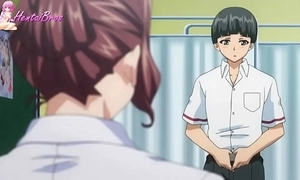 Hentai pupil pretend his own up to teacher into sexual relations underling