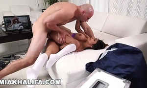 Mia khalifa - property extra unearth exotic j-mac outlying the scenes! (mk13784)
