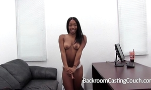 Hardbody sooty sweeping fucked right into an asshole vulnerable casting day-bed