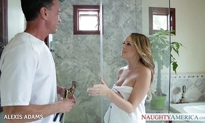 Fat breasted blondie alexis adams handsome a extensive detect