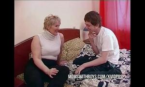 Bbw full-grown mummy seduces sons affiliate