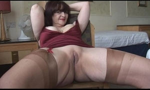 Obese chest adult panty play increased by travesty