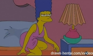 Of a male effeminate anime - lois griffin together with marge simpson