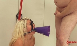 Fat arse cheerleader receives lasting anal, atm, plus turpitude