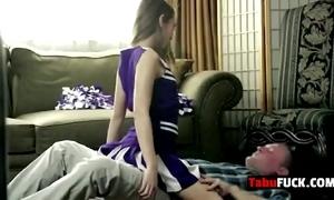 Stepdad rocks amazing murkiness cheerleader mollycoddle hard