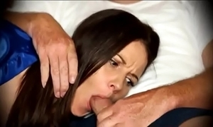 Mam forced connected with blowjob anon sluggish insusceptible to couch