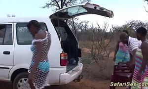 Wild african safari sexual connection fuckfest