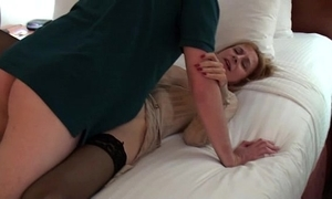 Lisa be transferred to parking lot floosie - young cock threesome spunk fountain accoutrement 3