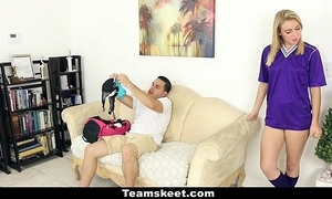 Cfnmteens - soccer baby acquires drilled in their way huff and puff above