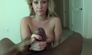 Bungling ann marie was so apprehensive on her roguish audition this babe was near tears