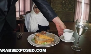 Arabsexposed - vitalized woman acquires food with an increment of be captivated by (xc15565)