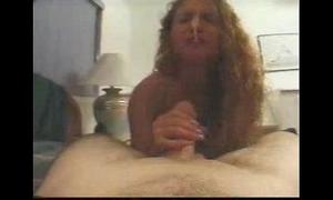 Handjob facetious cum surprise concerning a difficulty nose