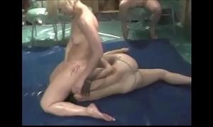 Gals bribe wrestling pt 01