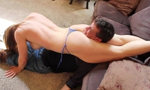 Tyler dare topless mixed wrestling