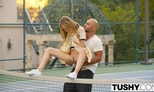 Buttocks chief anal for tennis partisan aubrey star