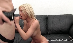 Big tits nursing coed anal with an increment of creampie