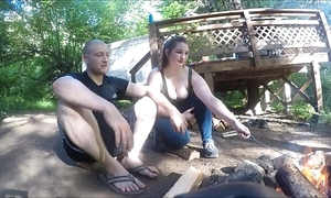 Lost hiker unreserved gets fucked and takes anal creampie