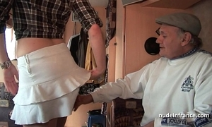 Mmmf clumsy french redhead indestructible dp back foursome team fuck alongside papy voyeur