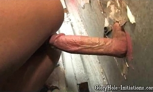 Chap-fallen coloured can't live without gloryhole!