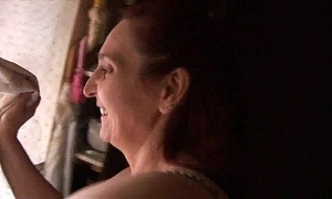 Mama having making love helter-skelter her descendant - real! -