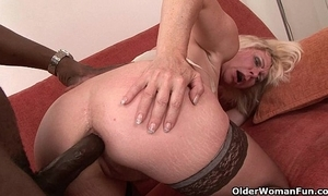 Mommy acquires black clear off their way pain in the neck
