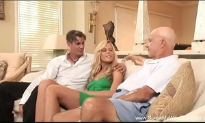 Wife does a Three-some for husband
