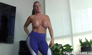 Attain my yoga panties personate you on?