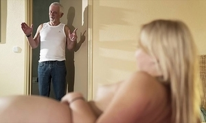Hello grandpa cheer make the beast with two backs my pussy plus let someone have me swallow cum