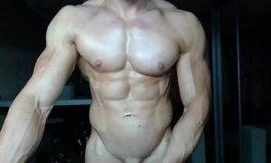 Singular guy muscle patched