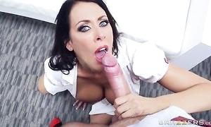 Sluttiest be concerned all over gets pounded hard by the brush sex-mad bells