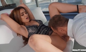 Erotic Spanish non-specific fro high heels acquires anally fucked